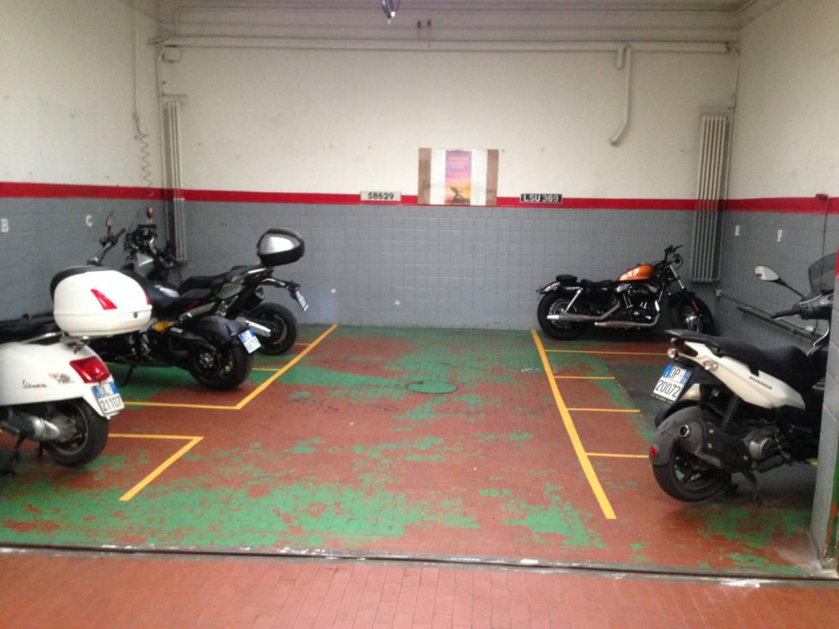 I posti moto, scooter e bici